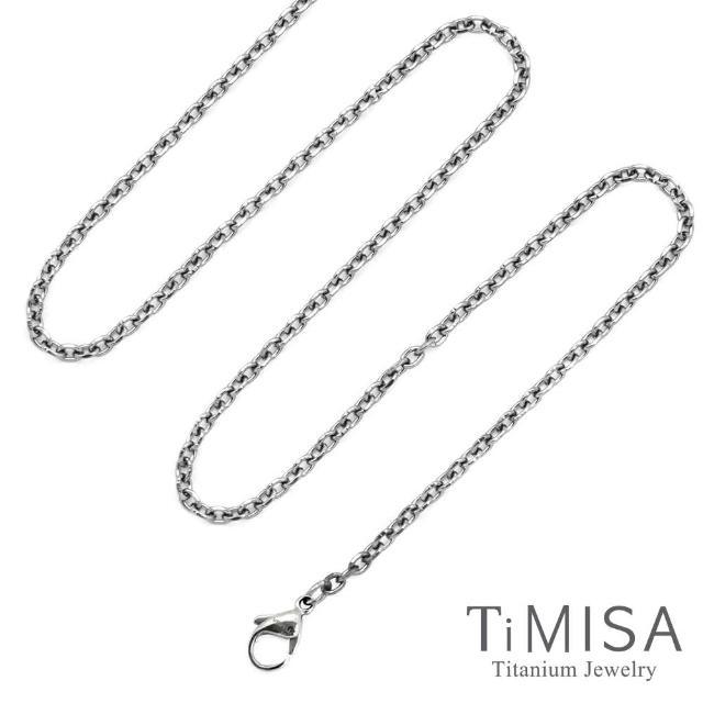 【TiMISA】心動時刻 純鈦項鍊(40公分)