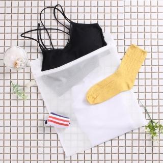 【HIKARI日光生活】原色角型洗衣網袋(小 / 33X38CM)