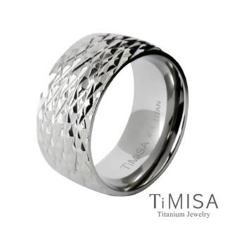 【TiMISA】永恆閃耀 純鈦戒指(寬版)