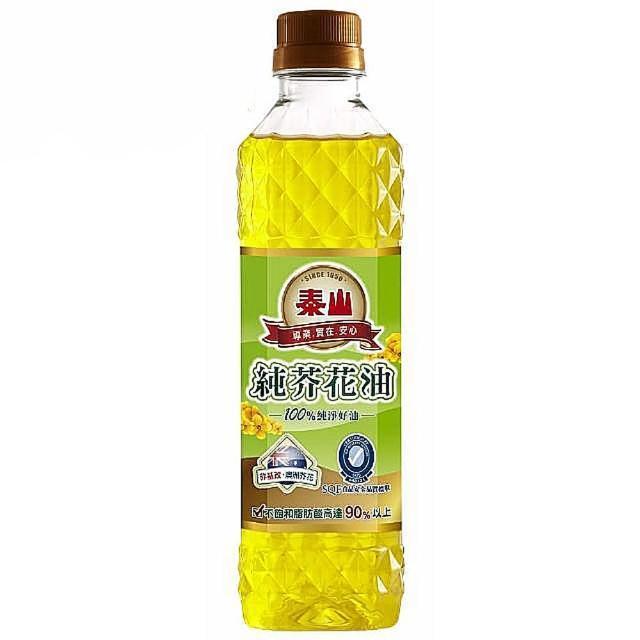 【泰山】純芥花油(380ml)