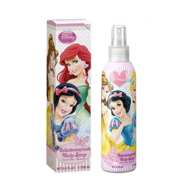 【Disney 迪士尼】Princess 童話公主嘉年華 香水身體噴霧(200ml)