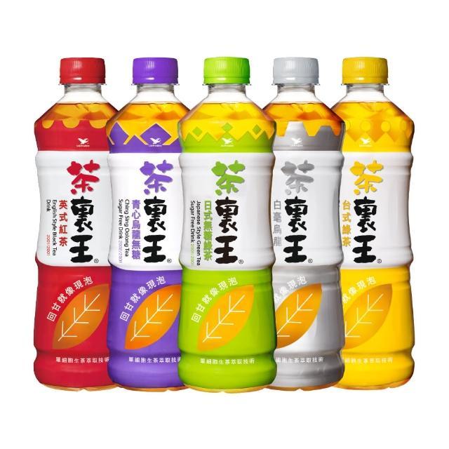 【茶?王】日式無糖綠茶600mlx24入/箱(健康食品調節血脂功能認證)