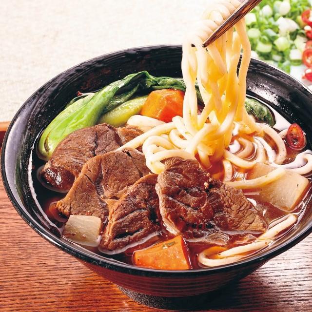 【良金牧場】金門高粱牛肉麵3組任選(半筋半肉、紅燒、牛三寶)