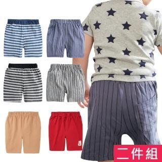 【baby童衣】兒童 休閒運動短褲 2件組 21031(共5色)