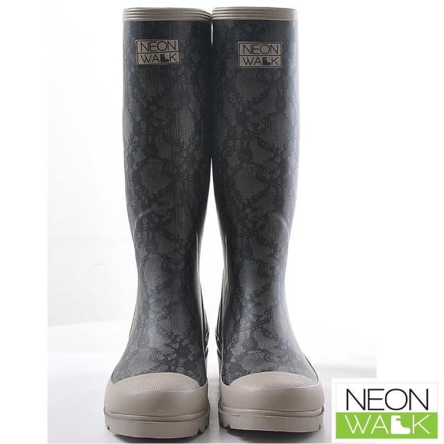 【Neon Walk】優雅蕾絲長筒雨靴(Neonwalk 長筒雨靴)