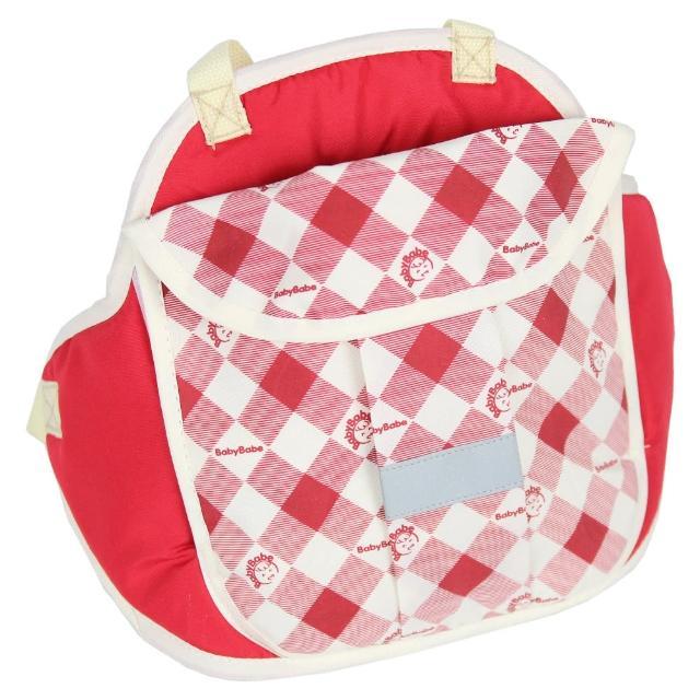 【Babybabe】兒童多功能防護背包(紅色)