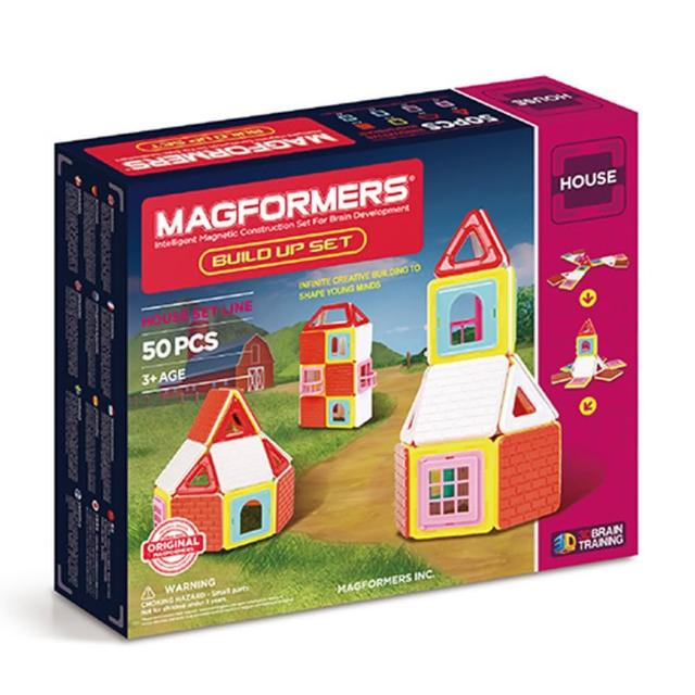 【Magformers】磁性建構片-Neon建造家(2016新品上市)福利品出清