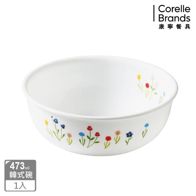 【CORELLE 康寧】473ml韓式湯碗-春漾花朵(416)