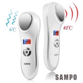 【SAMPO聲寶】美容1+1超值組(冰晶熱敷美容儀+微震動美顏儀)