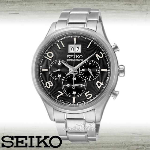 使用【SEIKO 精工】不敗錶款_經典紳士_三眼不鏽鋼男錶(SPC153P1)心得