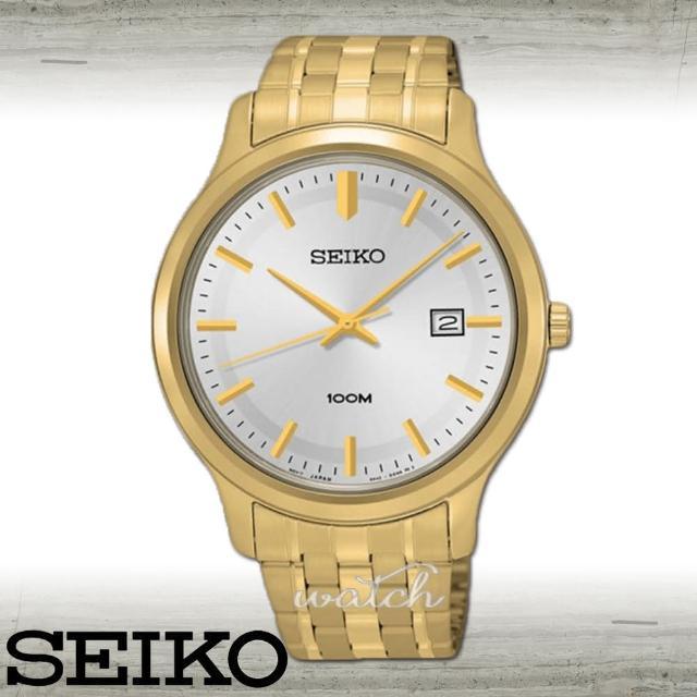 【SEIKO 精工】送禮首選 超人氣 經典紳士男錶 鏡面4.1cm(SUR148P1)