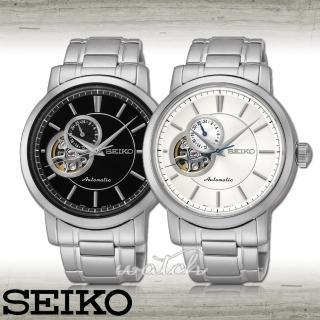 【SEIKO 精工】經典時尚紳士機械 男錶(SSA263K1/SSA265K1)
