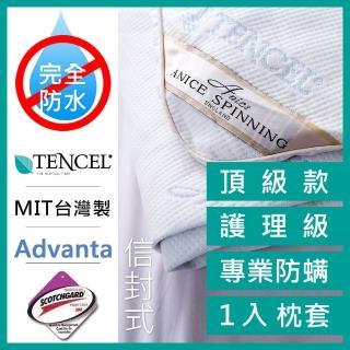 【A-nice】3M護理級 天絲信封式保潔枕套(一入)