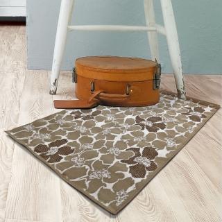 【范登伯格】圓舞曲 花花世界絲質地毯(50x70cm)