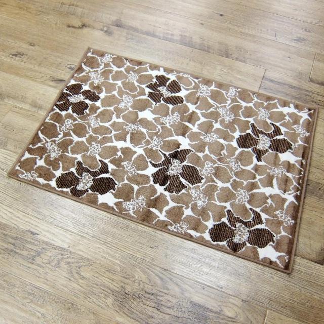 【范登伯格】圓舞曲 花花世界絲質地毯(70x105cm)