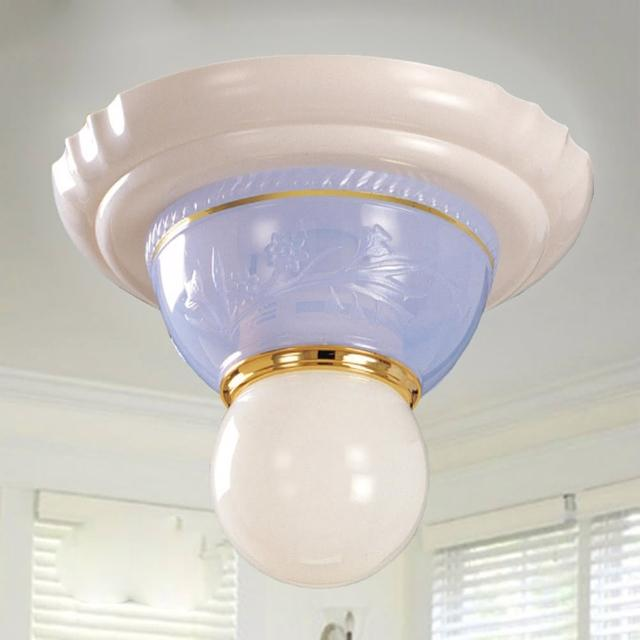 【光的魔法師 Magic Light】安卡拉吸頂單燈-粉藍色