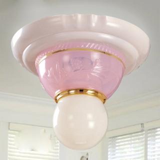 【光的魔法師 Magic Light】安卡拉吸頂單燈(粉紅色)