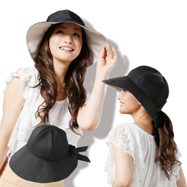 【日本Sunfamily】3用宽帽缘抗UV防风小颜帽