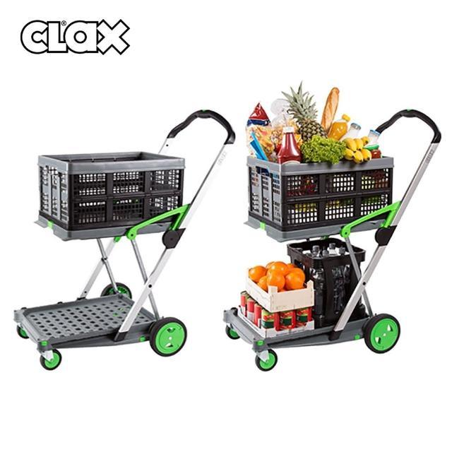 【Clax】小型戶外/家用摺疊推車(購物車 露營推車)