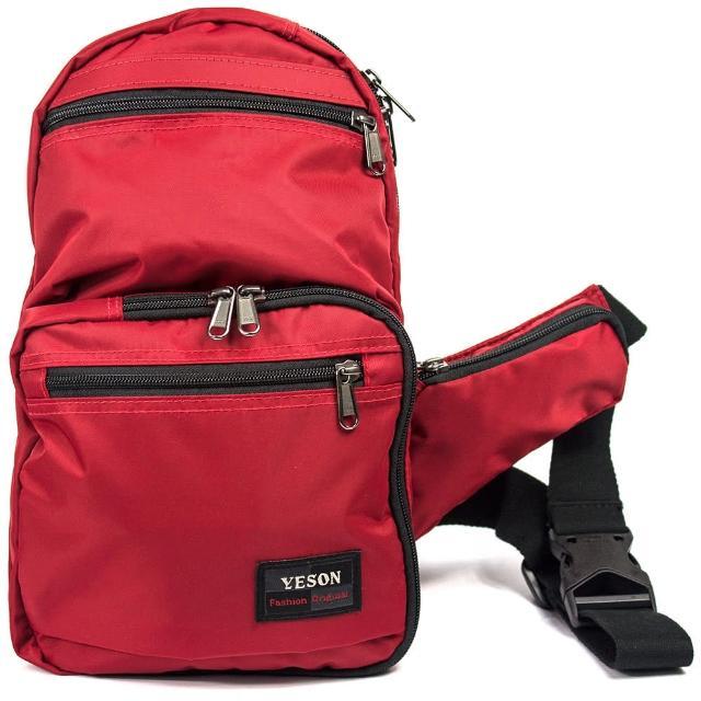 【YESON】輕量化防撥水單肩背包 - 五色可選(MG-7206)