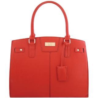 【BCBG】皮革壓紋醫生包-大型(紅色)