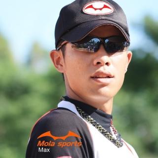 【Mola Sports】摩拉運動偏光太陽眼鏡 MAX_BLPG(100%抗紫外線 偏光鏡片讓眼鏡更舒適)