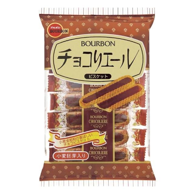 【Bourbon 北日本】巧克力小麥胚芽餅乾(110.6g)