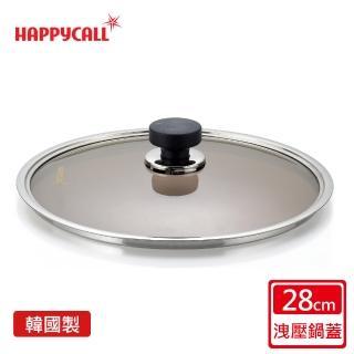 【韓國HAPPYCALL】圓柄四方洩氣鍋蓋(28cm)