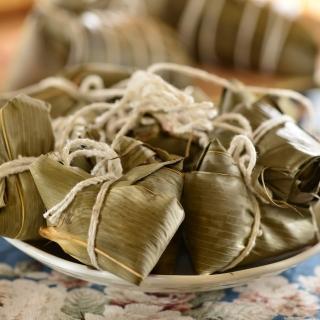 【鮮食家任選799】南門市場老林記素食齋菜 一口雜糧粽(35g*10入/袋)