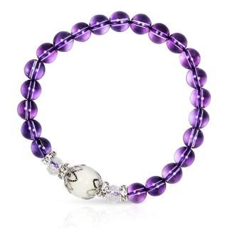 【A1寶石★十二星座】星座誕生石-晶鑽紫水晶白水晶白硨磲-幸運石(含開光)