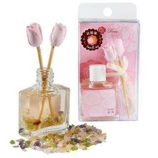 【A1寶石】五行玫瑰香氛組-紫水晶粉水晶等同聚寶盆功能(含開光-8ml)