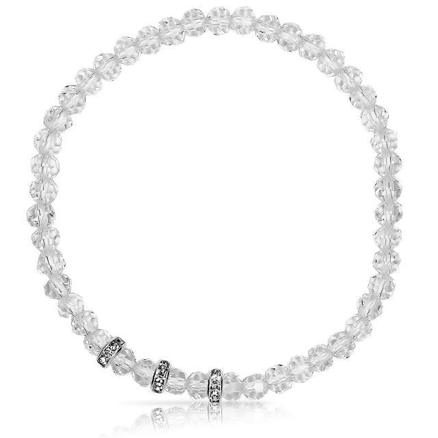 【A1寶石】晶鑽幸運水晶系列-提升財運-增加好桃花貴人運(清透白-含開光)