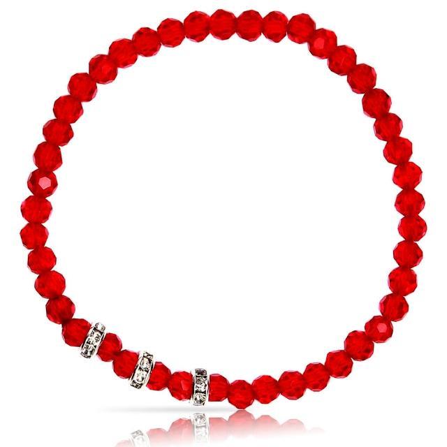 【A1寶石】晶鑽幸運水晶系列-提升財運-增加好桃花貴人運(玫瑰紅-含開光)