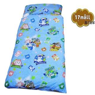 【17mall POLI】救援小英雄手提兒童睡袋(波力)