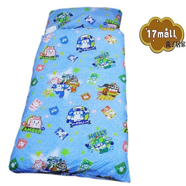 【POLI】救援小英雄二用手提兒童睡袋(波力)