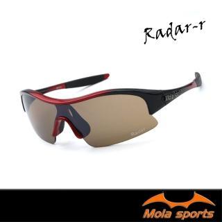 【Mola Sports】RADAR-R(時尚墨鏡擊防塵抗UV護目鏡 防護眼鏡騎行擋風)