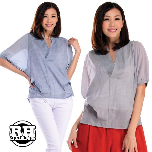 【雪莉亞】韓國設計上衣(長版親膚休閒寬版上衣)