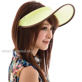 【SUNSOUL】光能帽-傑克帽(黃光)