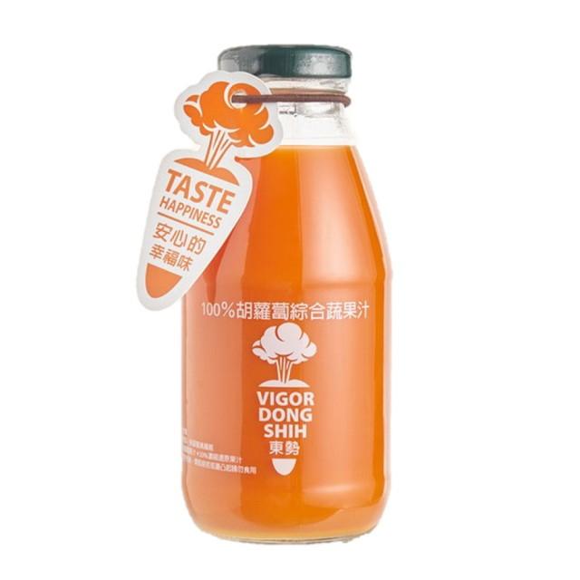 【VDS活力東勢】胡蘿蔔綜合蔬果汁(24瓶/箱)