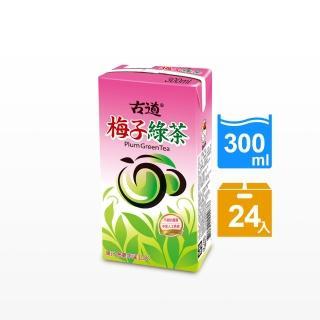 【古道】梅子綠茶300ml*24瓶