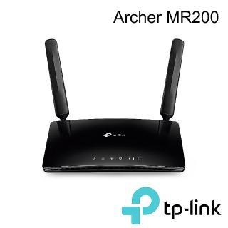 【TP-LINK】Archer MR200 AC750無線雙頻4G進階版LTE極速路由器