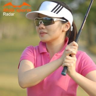 【Mola Sports】摩拉運動太陽眼鏡耐撞擊鏡片RADAR-WB(專業運動眼鏡耐撞擊鏡片抗紫外線自行車高爾夫跑步)
