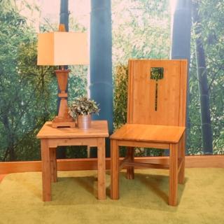 【時尚屋】竹製太觀氣派四方竹椅RZ6-G-C(餐椅)
