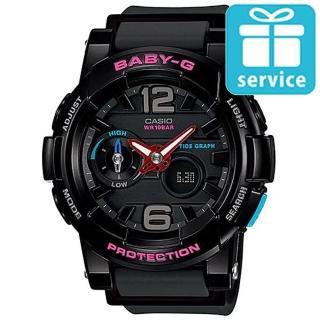 【CASIO】BABY-G俏麗時尚運動錶(BGA-180-1B)