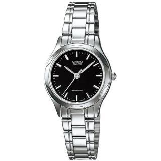 【CASIO】素雅大方指針設計腕錶(LTP-1275D-1A)
