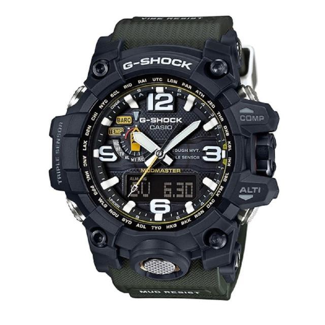 【CASIO】G-SHOCK 征服世界沙漠冒險電波錶(GWG-1000-1A3)