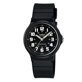 【CASIO】簡約視覺效果輕薄腕錶(MQ-71-1B)
