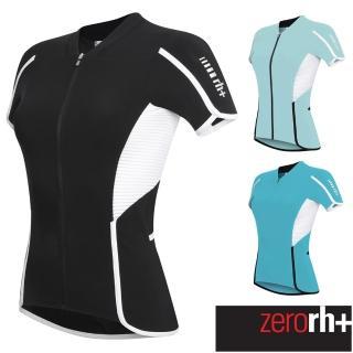 【ZeroRH+】義大利REVO競賽級專業自行車衣-女款(水藍色、黑/白、藍綠 ECD0291)