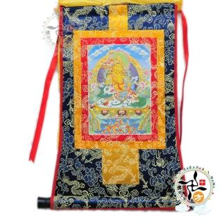 【十方佛教文物】財寶天王 迷你唐卡