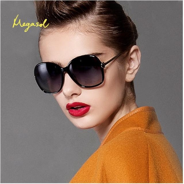 【MEGASOL】寶麗萊摺疊UV400偏光太陽眼鏡(MS9217Z)